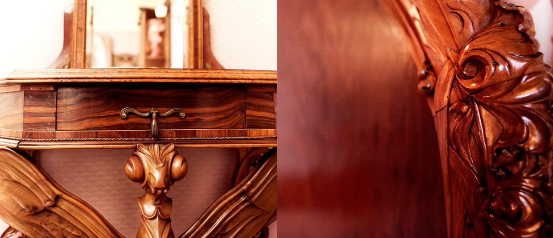 Aproximadamente 200 peças originais podem ser admiradas na Maison Belle Epoque