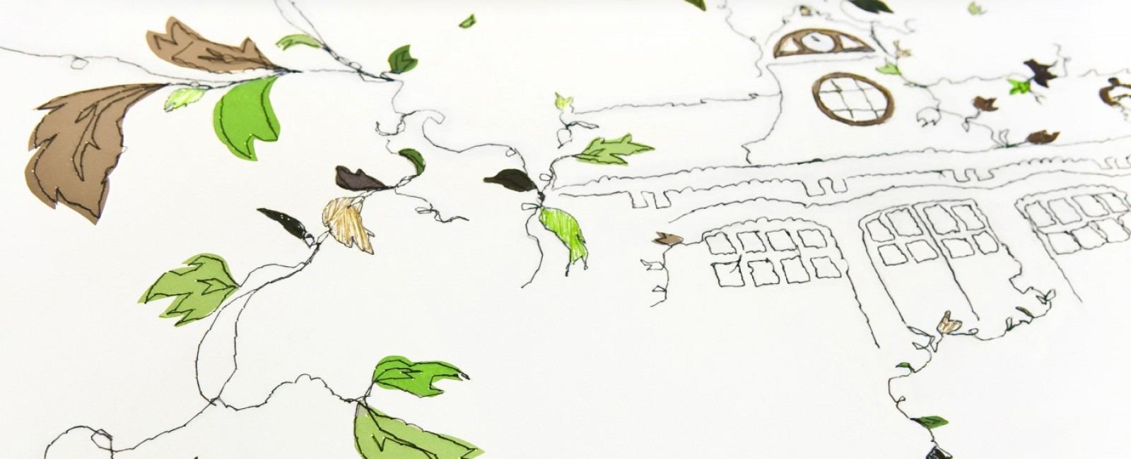 Perrier-Jouët coleção por Claire Coles