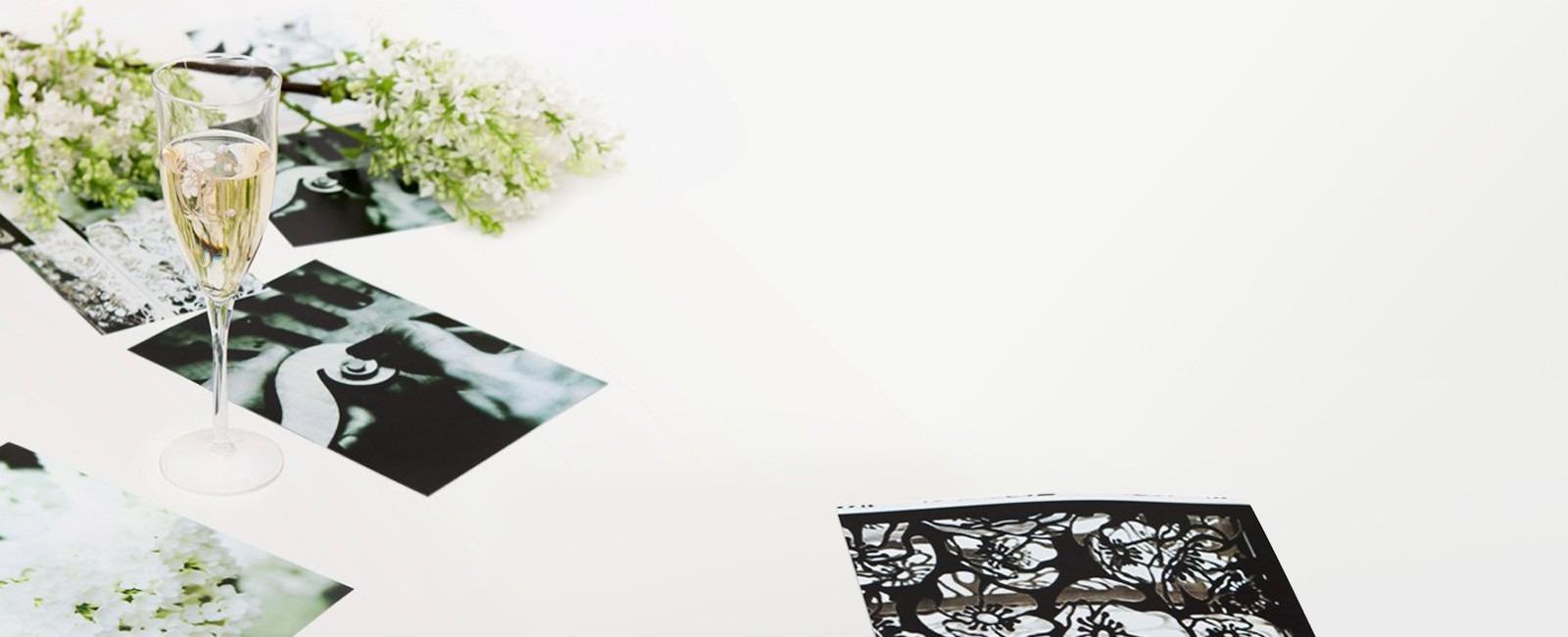 Floral, elegante lapidado