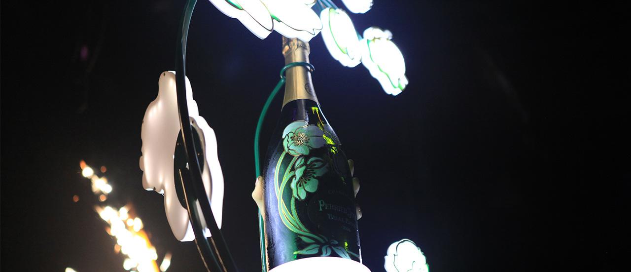 Celebre con Perrier-Jouët