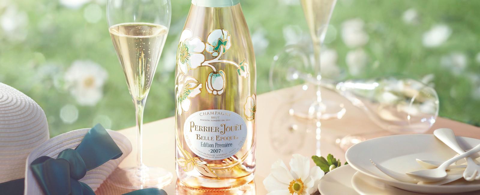 Perrier-Jouët presenta la primera cuvee efimera de Champagne Belle Epoque Edition Première 2007