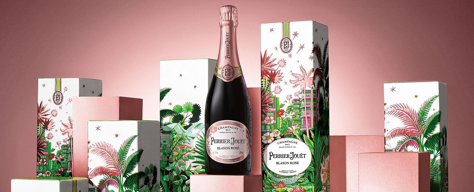 VALENTINE'S DAY LIMITED EDITION - PERRIER-JOUËT BLASON ROSÉ CHAMPAGNE